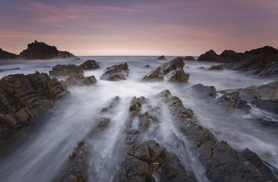 A piece of fine art art photography titled Alien Sea by Freddie Ridge