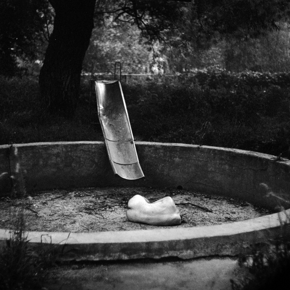 A piece of fine art art photography titled Drowned by Anca Cernoschi