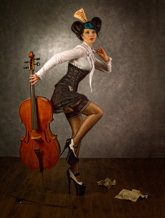 A piece of fine art art photography titled Turn Around by Peter Kemp