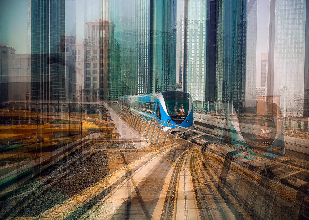View this piece of fine art photography titled Metro by Kirill Oginov