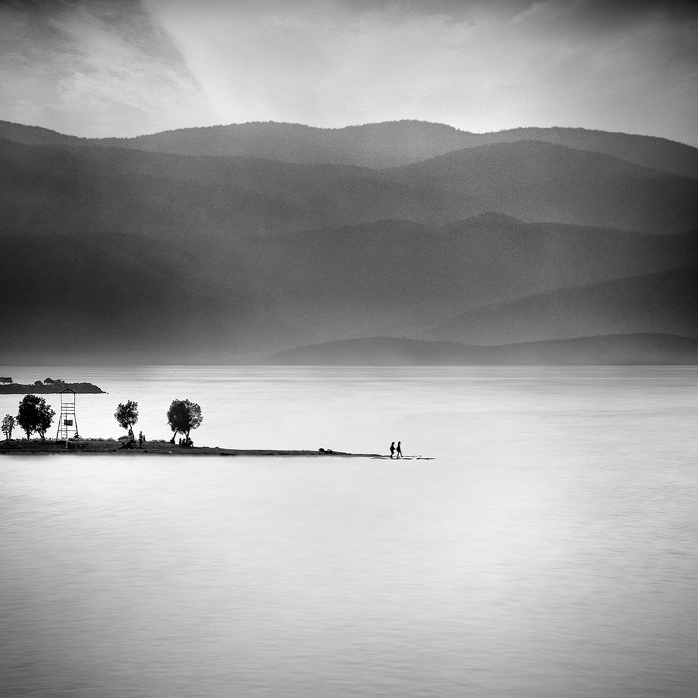 A piece of fine art art photography titled By the Sea 060 by George Digalakis