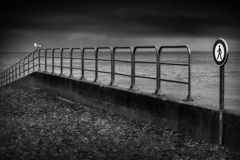 A piece of fine art art photography titled No. Trespassing by Marc Apers