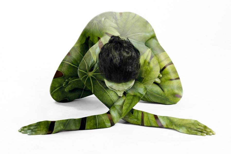 A piece of fine art art photography titled Green by aleba
