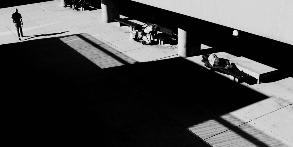 A piece of fine art art photography titled Morning Sleepers by Jian Wang