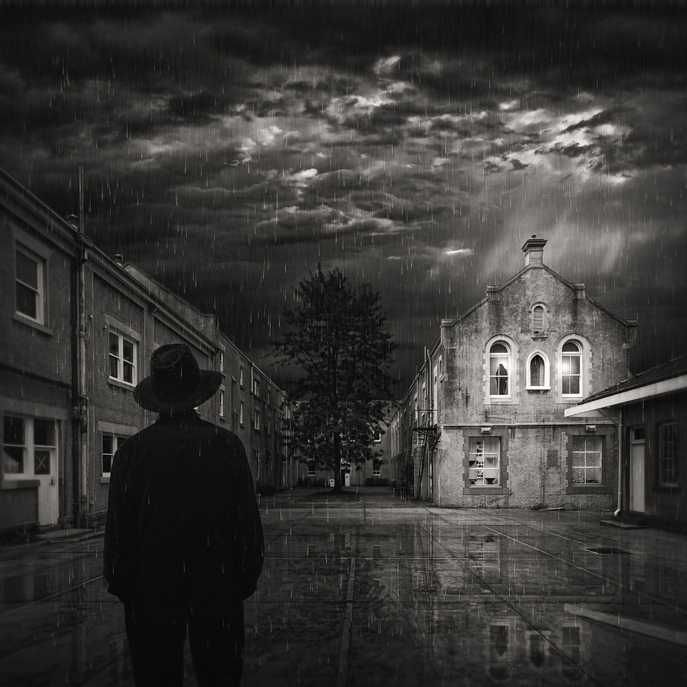 A piece of fine art art photography titled The Convent by Adrian Donoghue