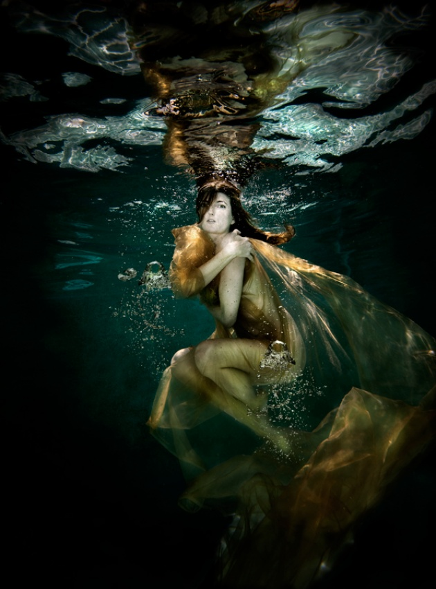 A piece of fine art art photography titled Valkyrie of the Ocean by Bread and Shutter