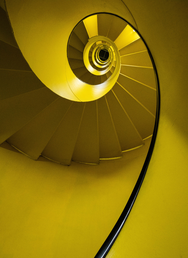 A piece of fine art art photography titled The Perfect Spiral by Eric Chatelain