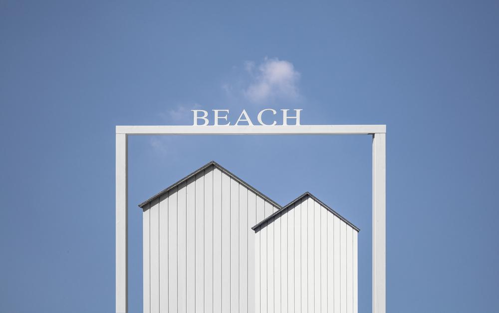 A piece of fine art art photography titled Beach by Harry Verschelden