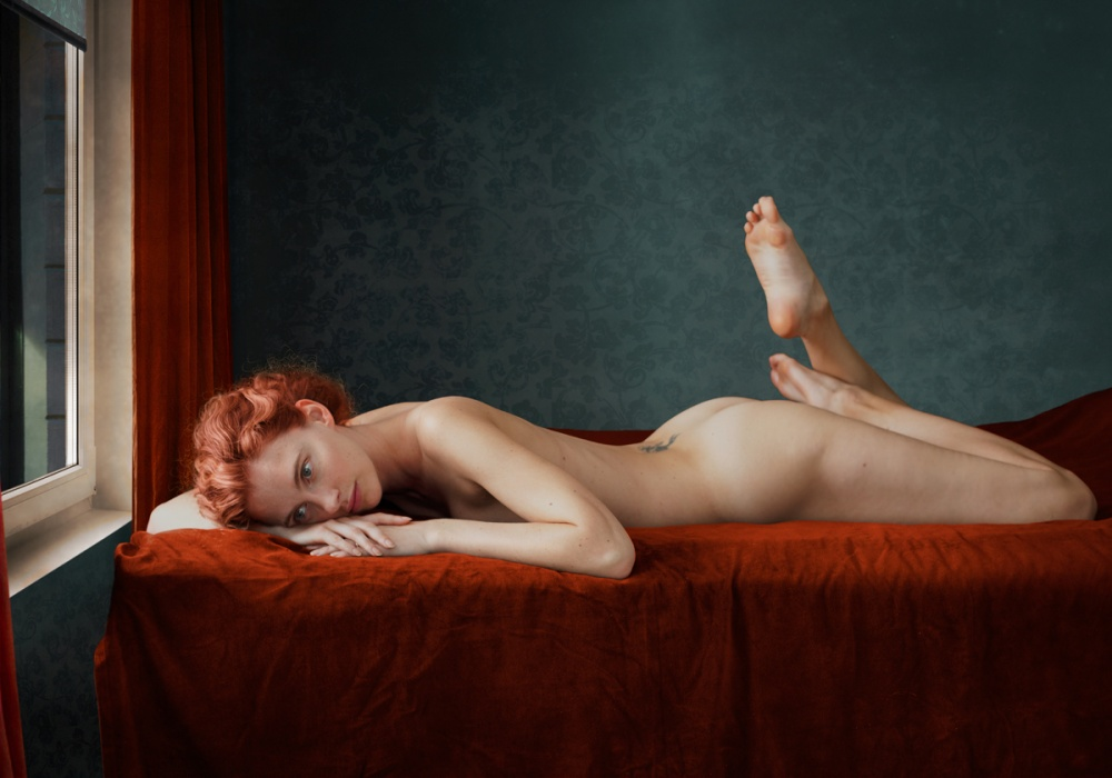 A piece of fine art art photography titled Series Rooms by Ksenia Alekseeva