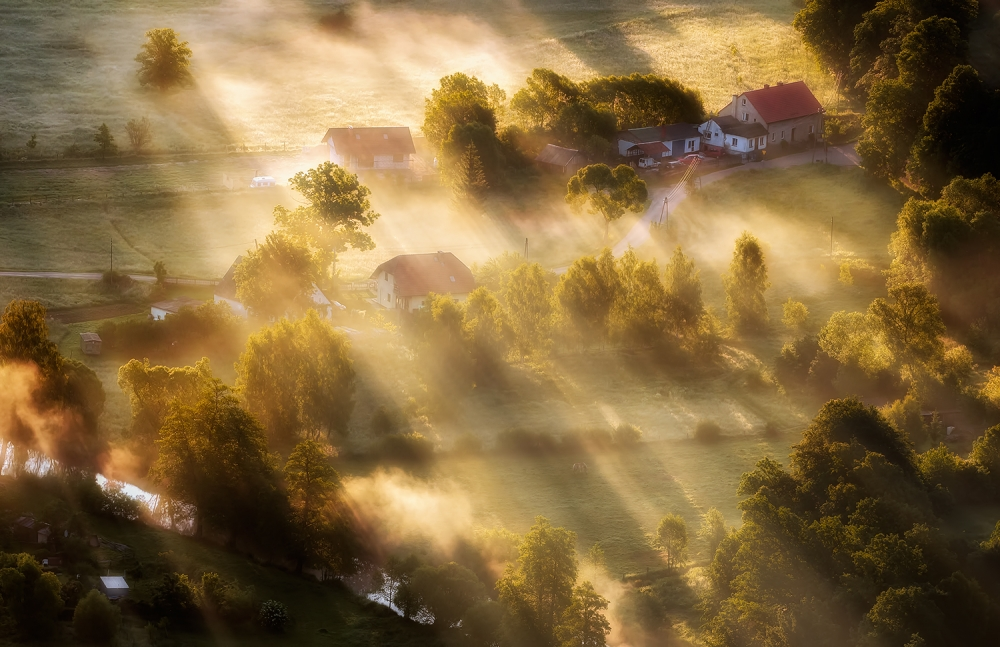 A piece of fine art art photography titled In the Morning Sun by Piotr Krol (Bax)