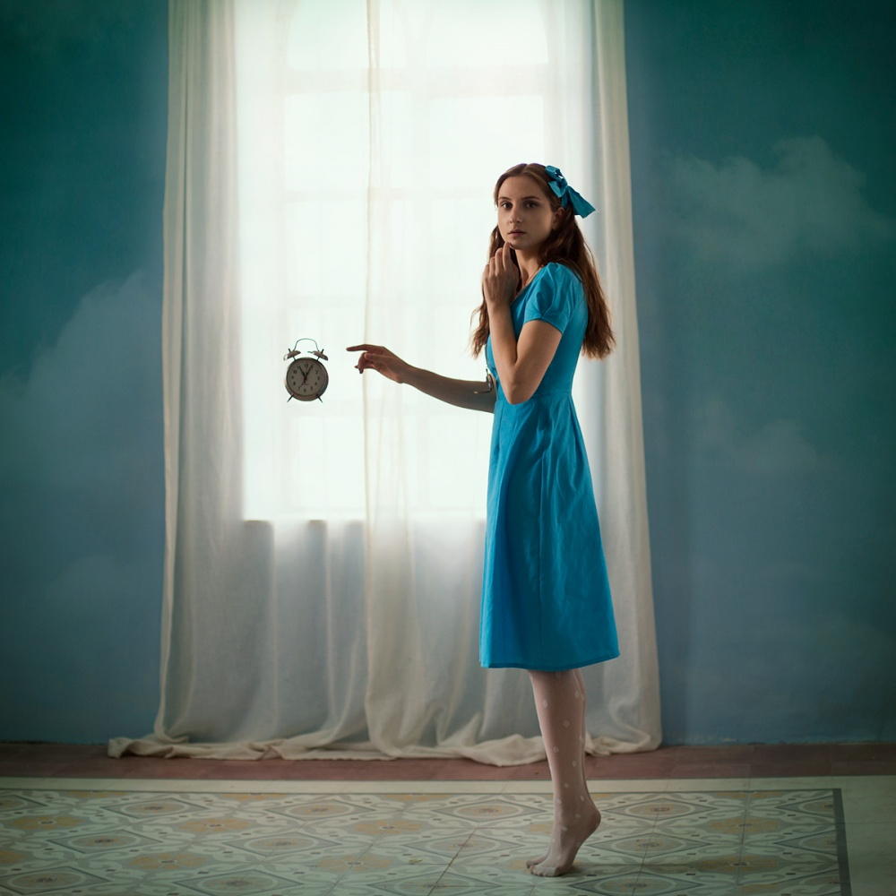 A piece of fine art art photography titled Alice In Wonderland by Pini Hamou