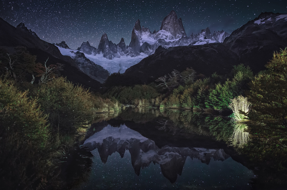 A piece of fine art art photography titled Poincenot by Adhemar Duro
