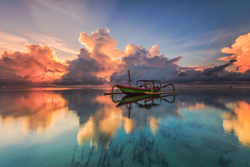 A piece of fine art art photography titled Standing Alone by Bertoni Siswanto