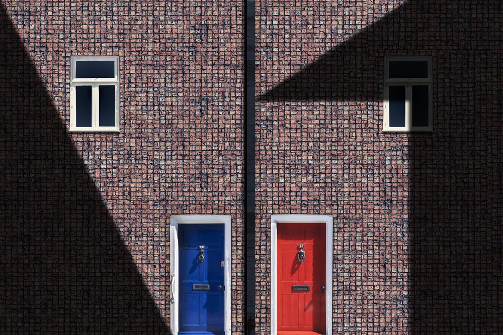 View this piece of fine art photography titled brick house by aRRO