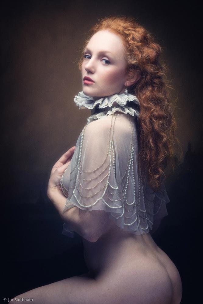 portrait with ruff