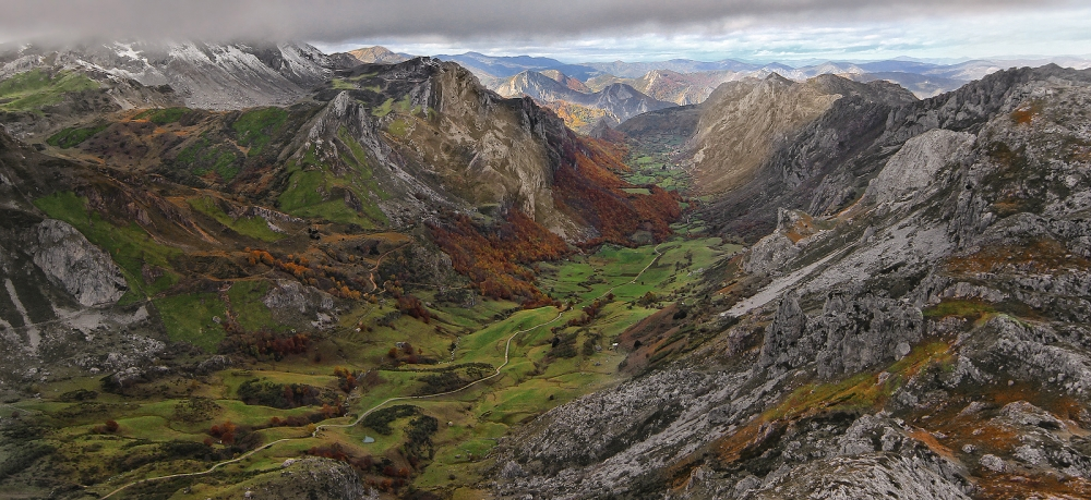 A piece of fine art art photography titled Somiedo, Asturias, by Amador Funes