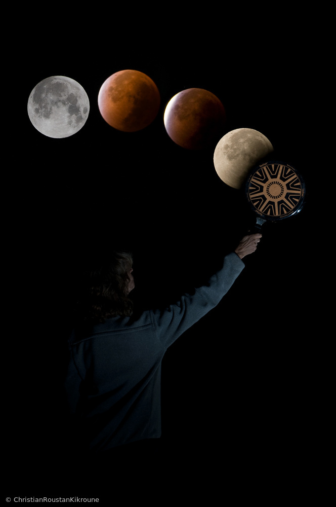 The truth about lunar eclipse