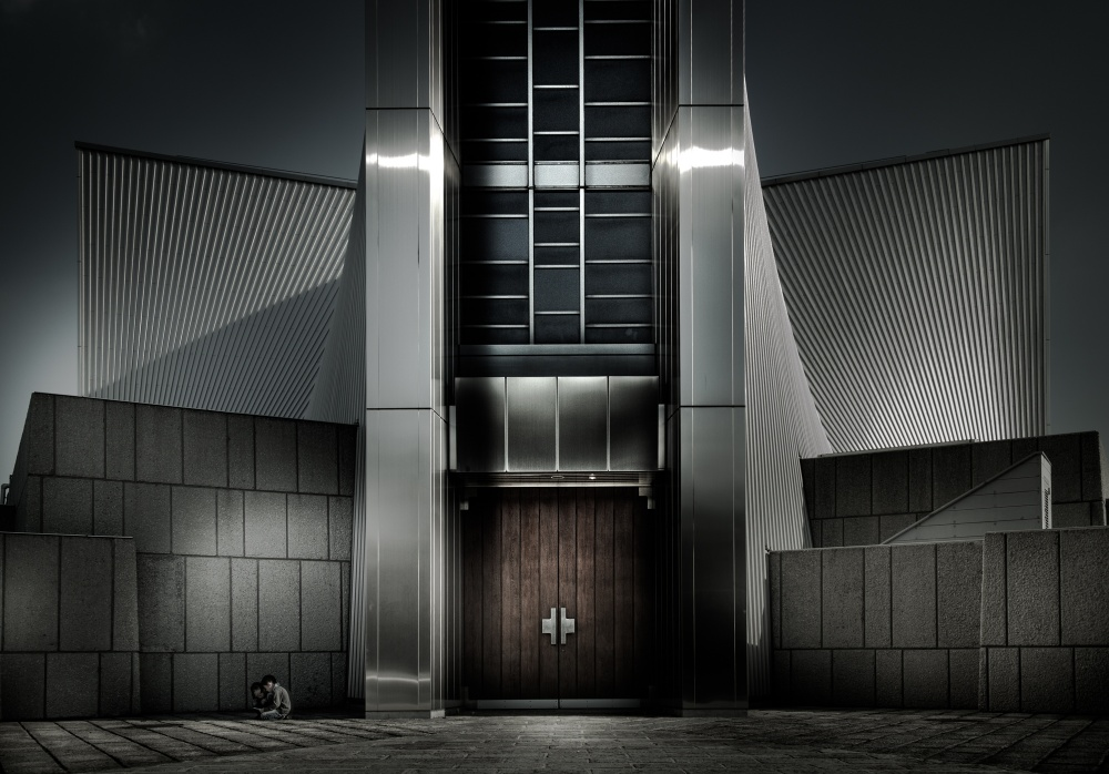 A piece of fine art art photography titled Tokyo CATHEDRAL by Takahisa Hirose