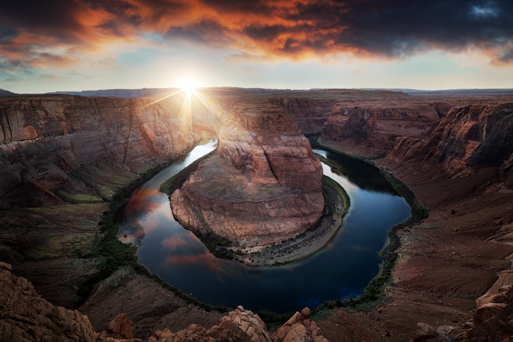 A piece of fine art art photography titled Horseshoe Bend by Juan Pablo de Miguel