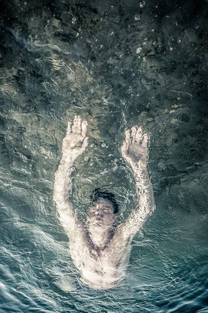 View this piece of fine art photography titled Universe Diver by Astrid Herzsprung