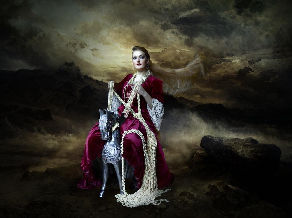 A piece of fine art art photography titled Dona Peixote II by Patrizia Burra