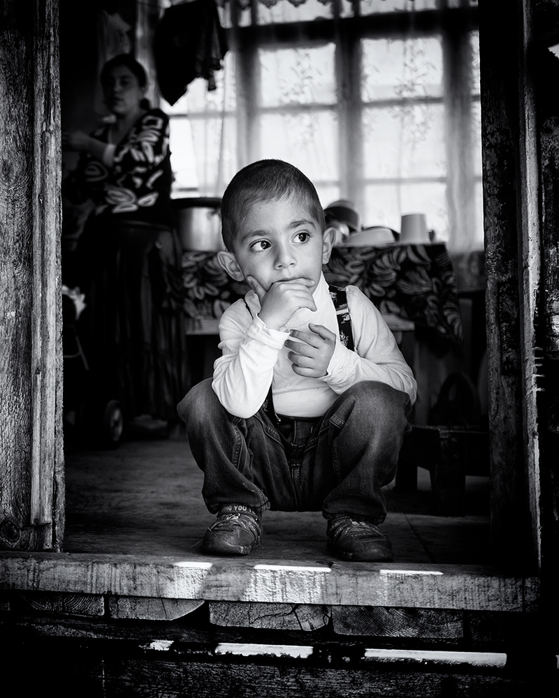 A piece of fine art art photography titled Thoughtful by Marcel Rebro