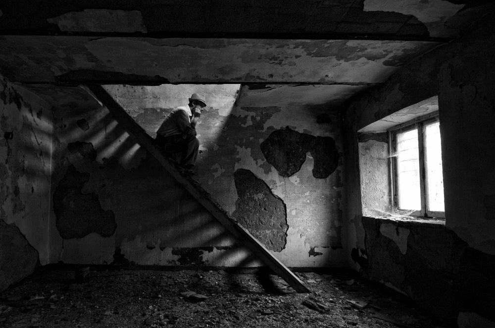 A piece of fine art art photography titled Dream Up by Carlo Ferrara