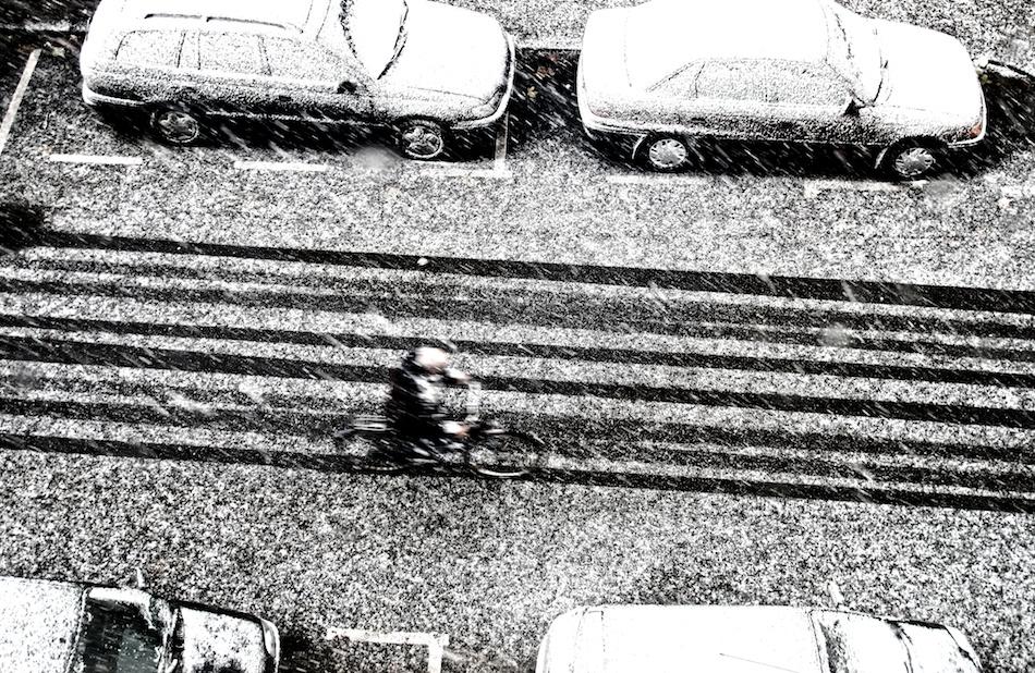 A piece of fine art art photography titled Alone by Jorge Moredo