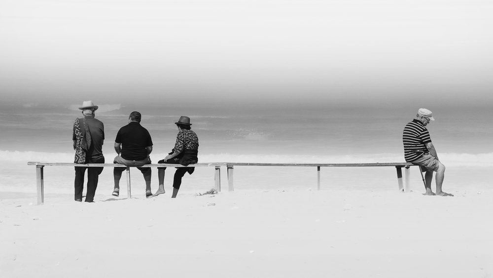 A piece of fine art art photography titled Loneliness Is a Friend of Mine by Rui Correia