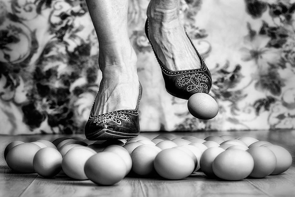 Walkin' on Egg Shells....