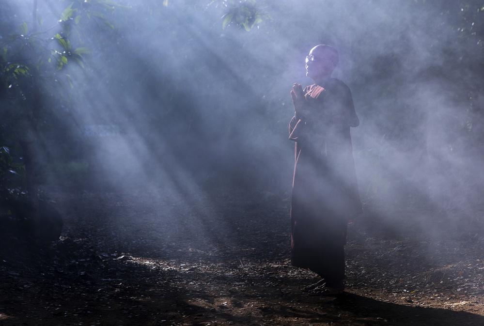 A piece of fine art art photography titled Mrauk by Clas Gustafson EFIAP