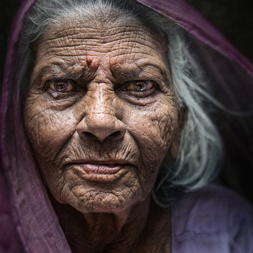 A piece of fine art art photography titled Age Doesn't Matter by Fadhel Almutaghawi