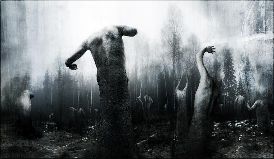 A piece of fine art art photography titled Birthmark by Erlend Mørk