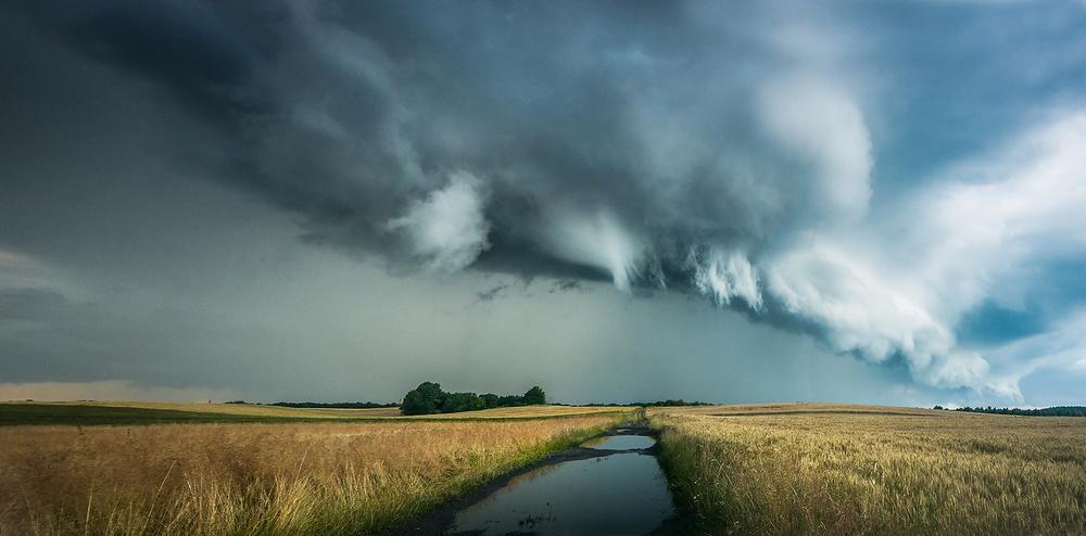 A piece of fine art art photography titled Before Storm by Jakub Przybyla