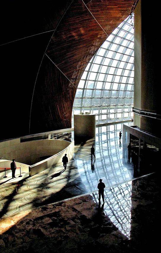 A piece of fine art art photography titled National Grand Theatre by E. Westdijk