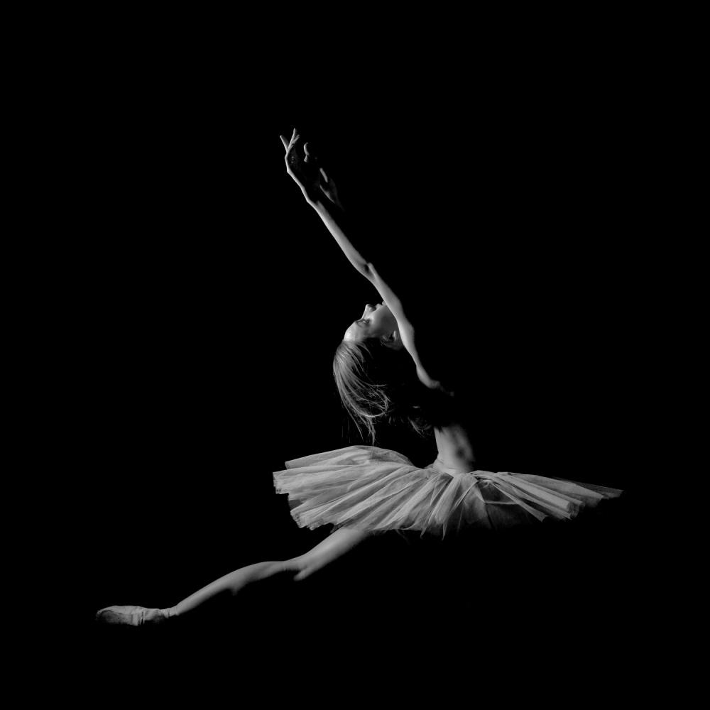 A piece of fine art art photography titled Night Dance by Nik Babic