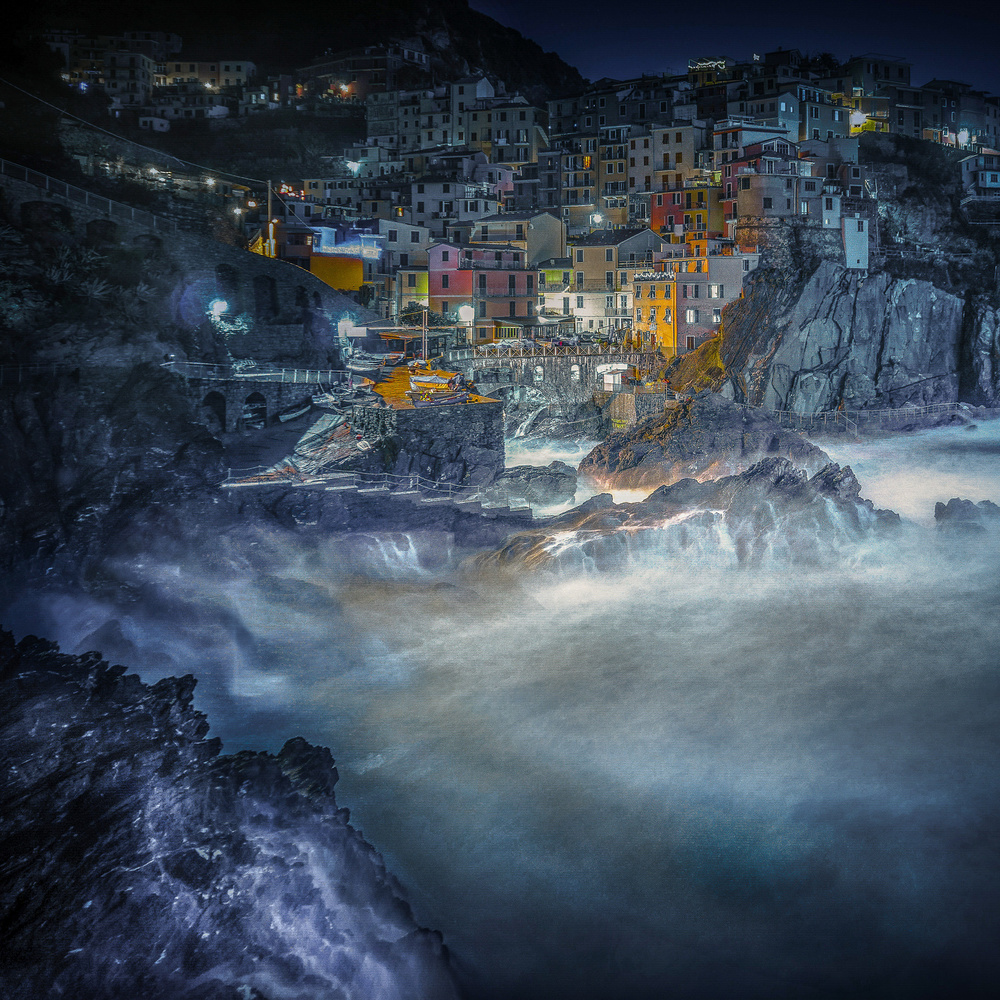 View this piece of fine art photography titled Dream of Manarola by Alessandro Traverso