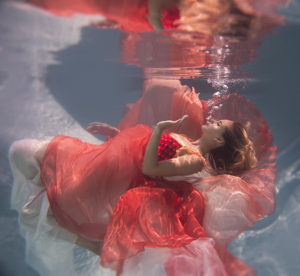 A piece of fine art art photography titled Michelle by Gabriela Slegrova