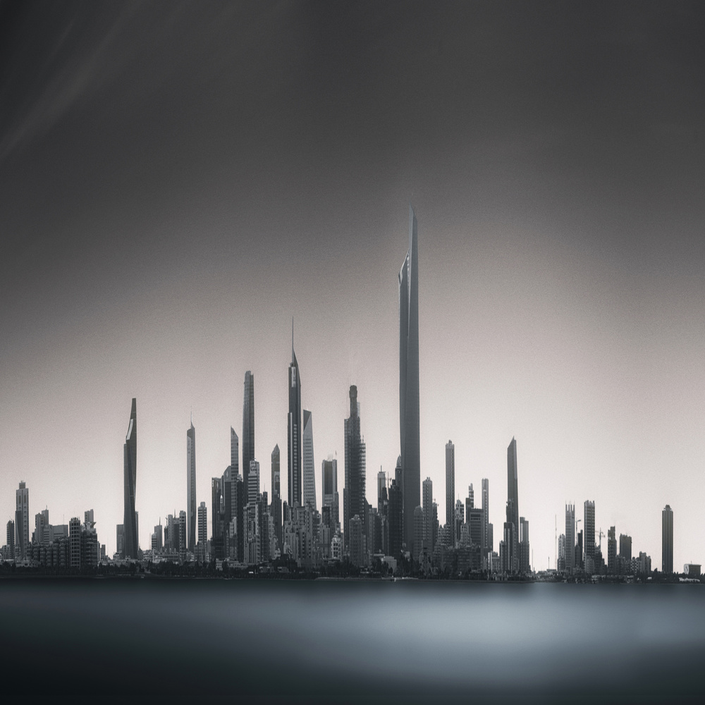 A piece of fine art art photography titled Far Far Away by Ahmed Thabet