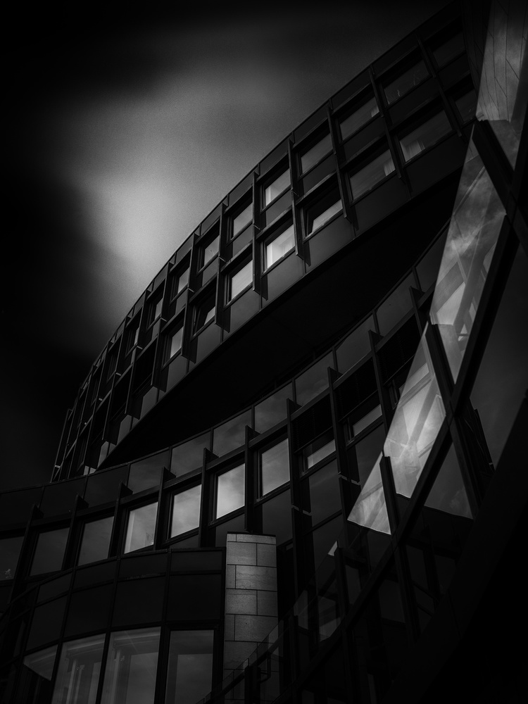 View this piece of fine art photography titled Landtag NRW by Marc Huybrighs