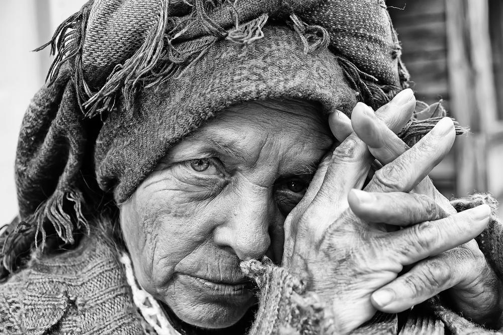 A piece of fine art art photography titled Isau by Josefina Melo