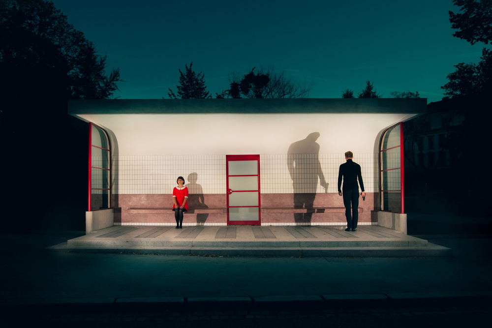 A piece of fine art art photography titled Stronger by Miloš Nejezchleb