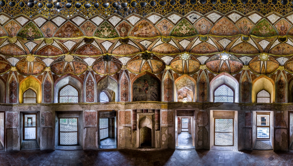A piece of fine art art photography titled Palace of 8 Heavens by Mohammad Reza Domiri Ganji