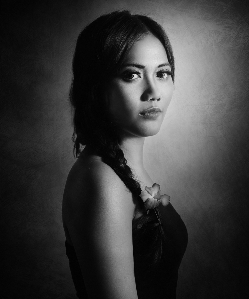 A piece of fine art art photography titled Belbella by Ivan Marlianto