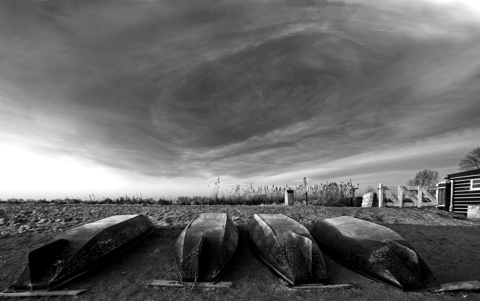 A piece of fine art art photography titled Hollow Sky by Suryo Tutuko