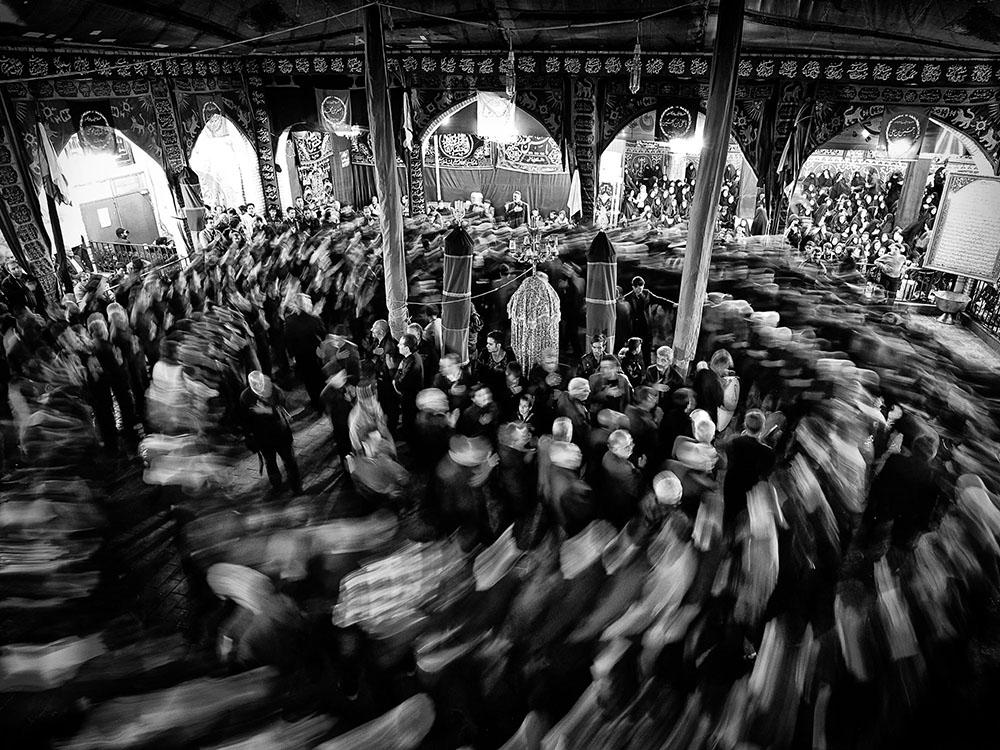 A piece of fine art art photography titled Spiral by Reza (Rezvan) Vaezpour