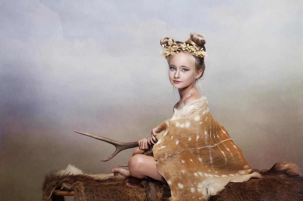 A piece of fine art art photography titled Alizee by Monika Vanhercke