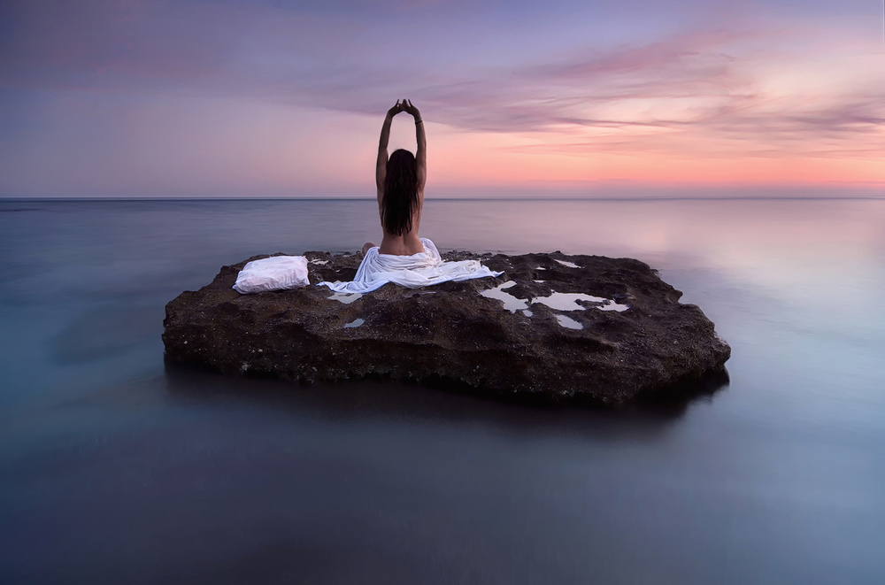 A piece of fine art art photography titled Awakenings by Maria Kaimaki