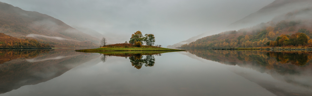 A piece of fine art art photography titled Loch Leven by Adrian Popan