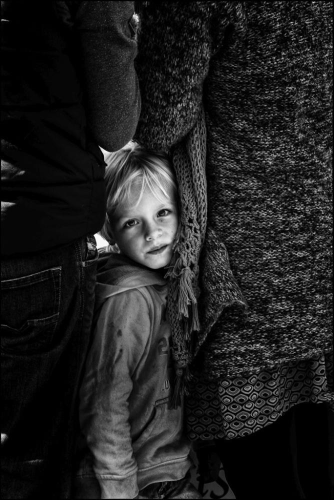 A piece of fine art art photography titled The Child by René van Rijswijk